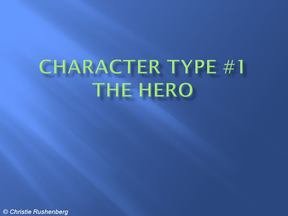 Who is a Hero.