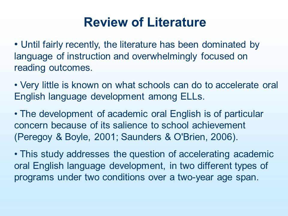 Debate on Language of Instruction Among ELL population 49% are placed in TBE programs and 38% in SEI programs (Alanis, 2000).