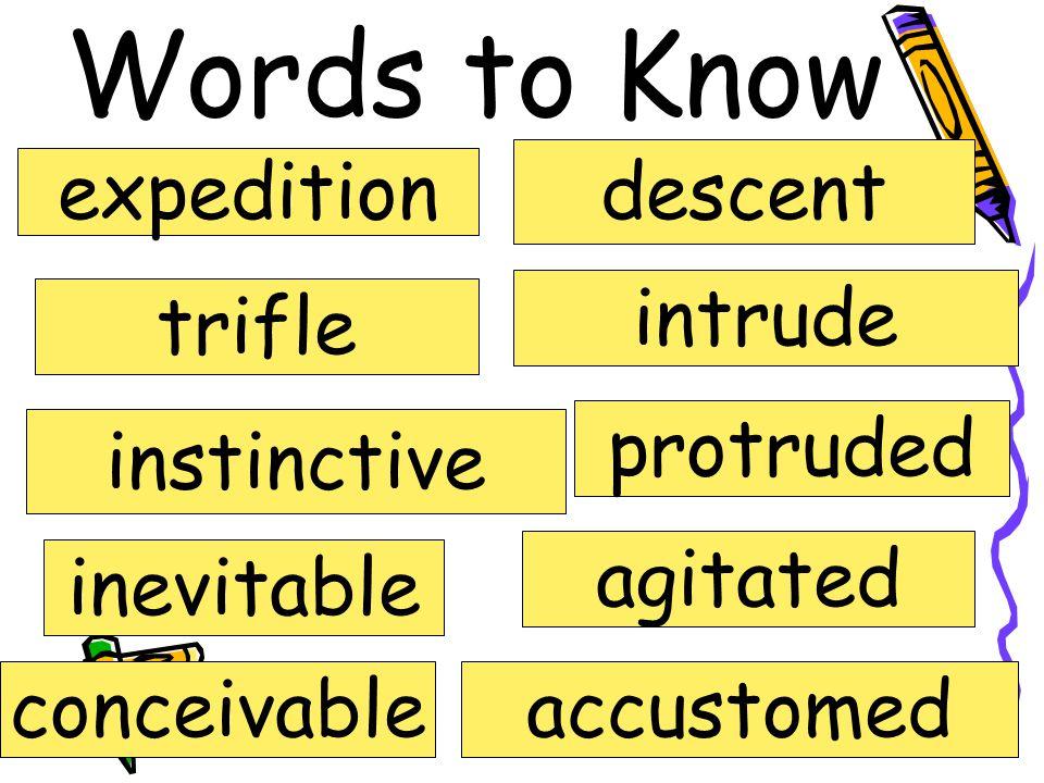 Chapter 7-8 Vocabulary Novel Study