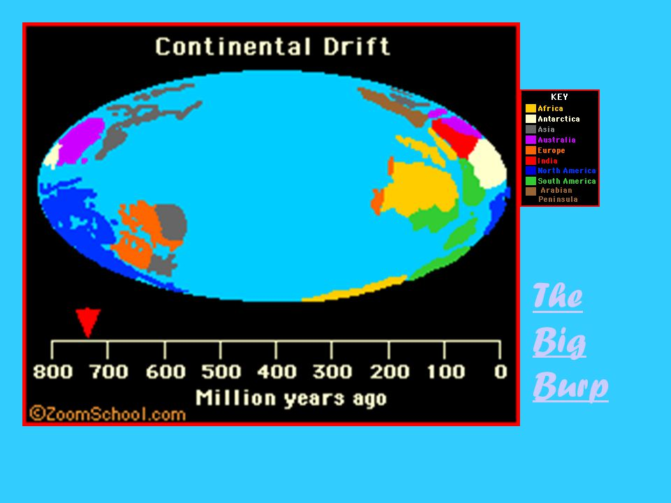 1.The lithospherethe earths crust and upper layer of the mantleare broken into a number of large, moving plates.