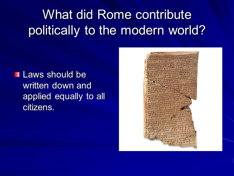 What made Rome a republic? Roman citizens elected leaders to make government decisions.