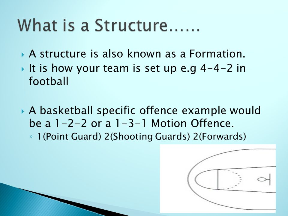 A structure is also known as a Formation.