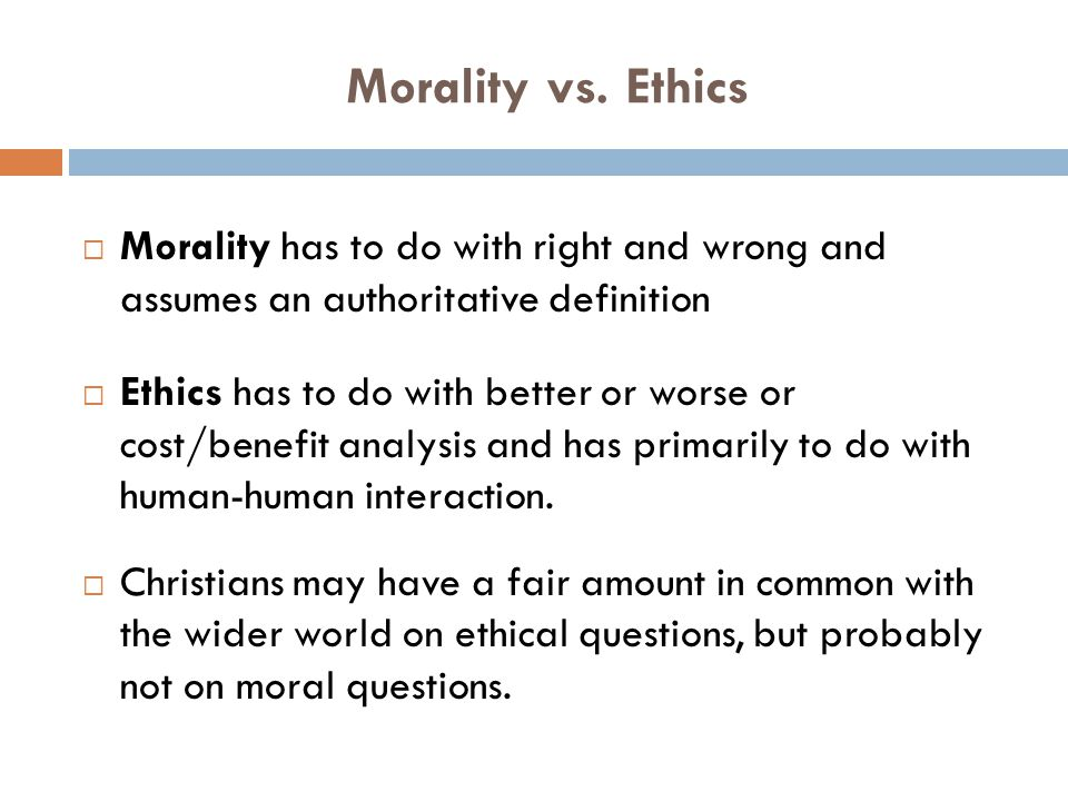Why Should a Christian Care About Bioethics.