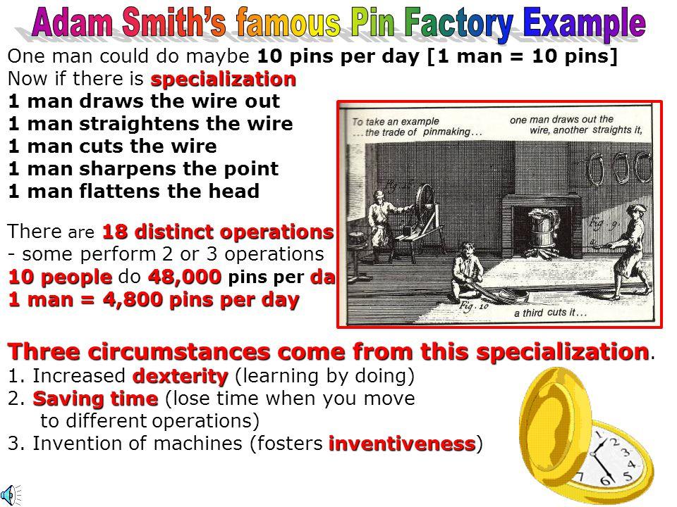 Adam Smith Scotland 1723-1790 Father of Economics [Adam Smith Laissez Faire Economics (No government intervention) Specialization The Wealth of Nations 1776 Self Interest The Invisible Hand