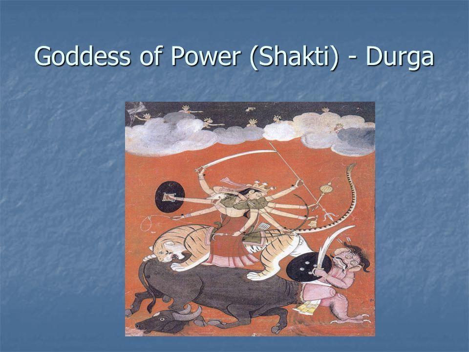 Goddess of Power (Shakti) - Durga