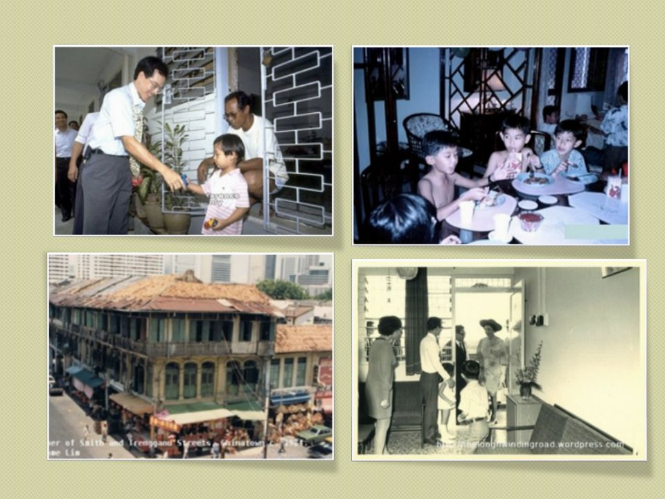 80s Daily Life in Singapore Set Design Research