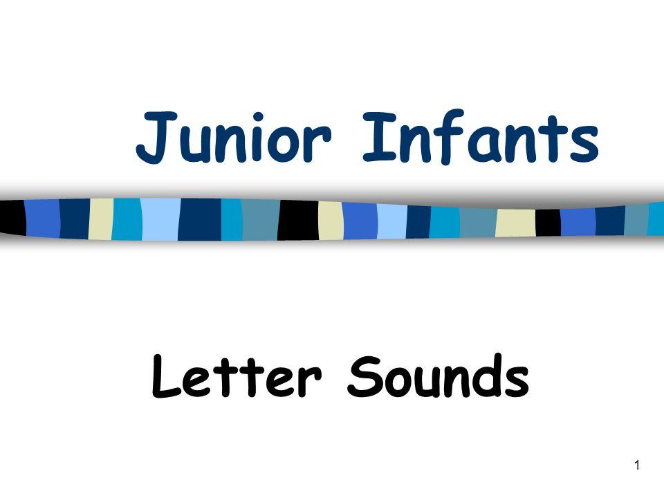 1 Junior Infants Letter Sounds