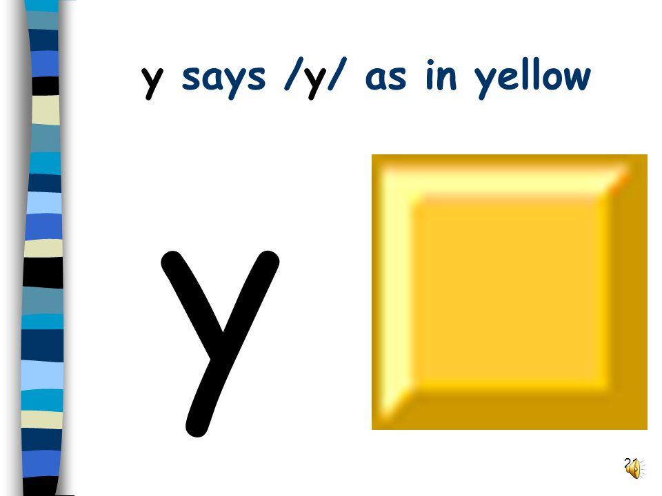 20 v says /v/ as in van v