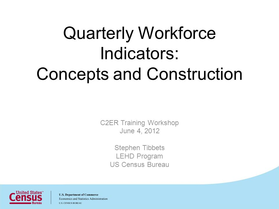 QWI Estimates: Employment Measures 32