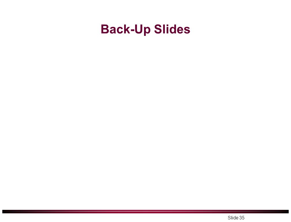 Back-Up Slides Slide 35
