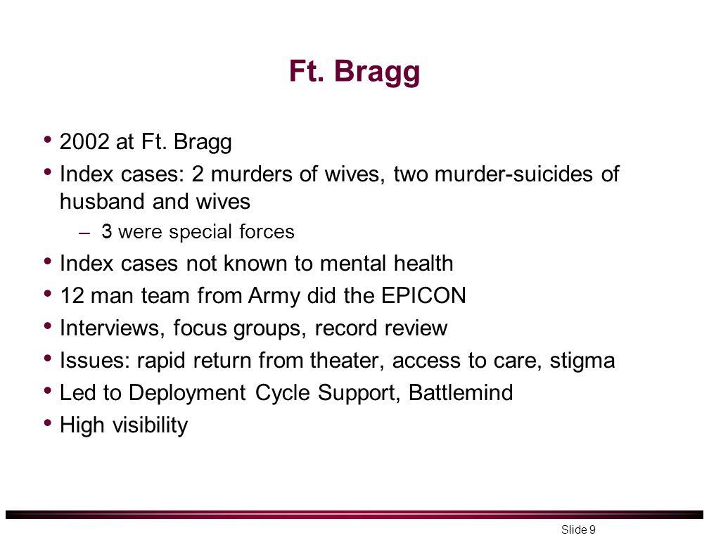 Ft. Bragg 2002 at Ft.