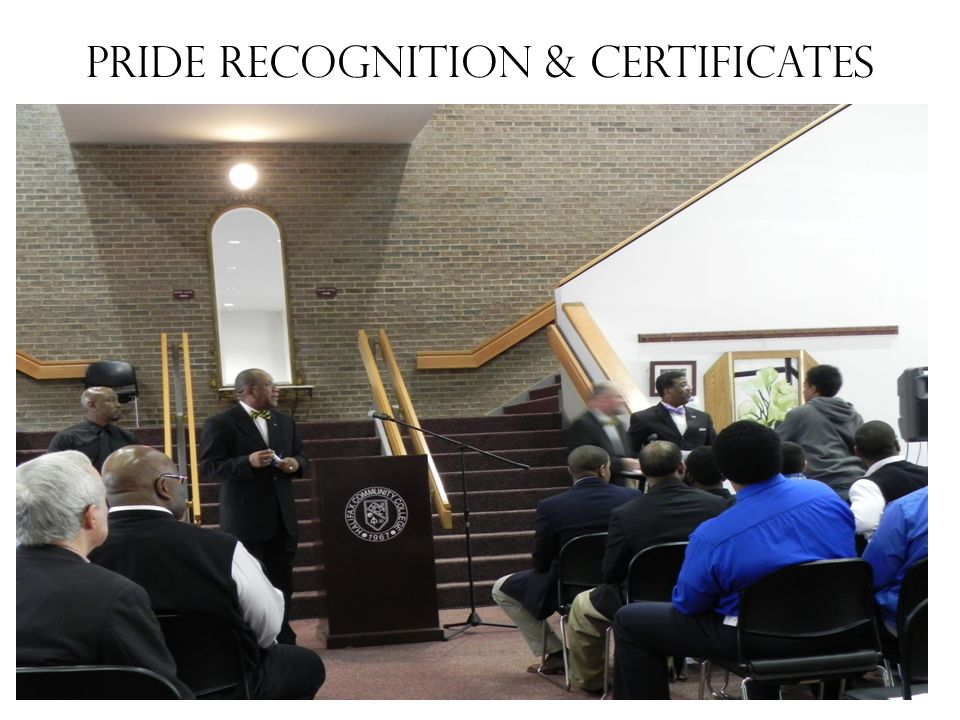 PRIDE Recognition & Certificates