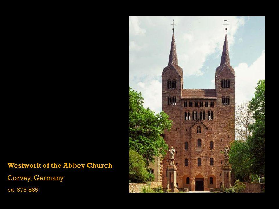 Westwork of the Abbey Church Corvey, Germany ca. 873-885