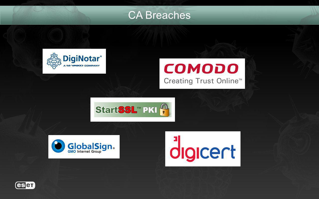 CA Breaches