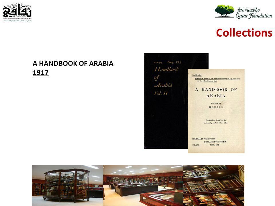 Collections A HANDBOOK OF ARABIA 1917