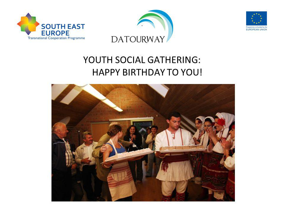 . YOUTH SOCIAL GATHERING: HAPPY BIRTHDAY TO YOU!