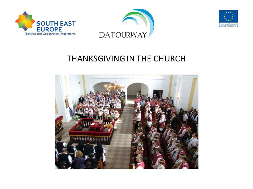 . THANKSGIVING IN THE CHURCH