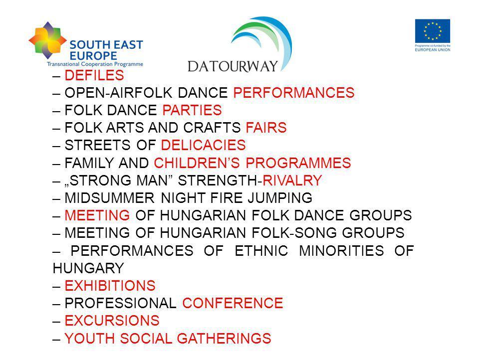 . FESTIVALS IN HUNGARY