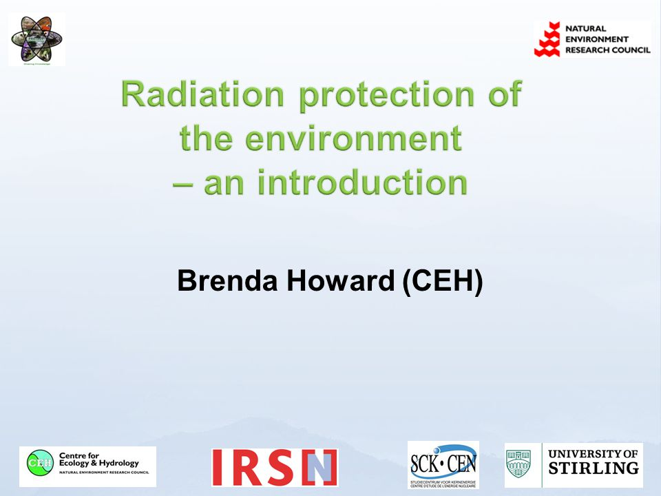 Planned - current activities, new nuclear sites and U mines etc Not historic (yrs of discharge) Mostly for planned NPP and waste repositories (current or prospective discharges) Existing – exposure to natural radiation sources and contamination of areas by residual radioactive material Past activities that were never subject to regulatory control or were not regulated according to present requirements; An emergency, after the emergency exposure situation has been declared ended Residues from past activities for which there is no longer legally accountability Used in USA for previously contaminated sites Emergency – eg accidents, malevolent acts Low priority in acute phase www.ceh.ac.uk/PROTECT