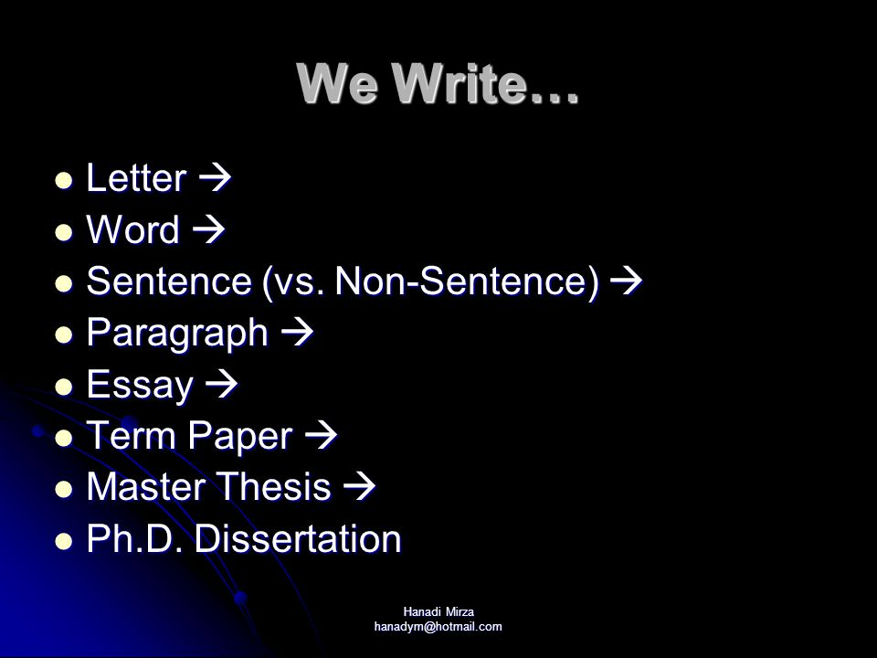 Hanadi Mirza hanadym@hotmail.com Correcting Grammar Mistakes Revisit a point in grammar Revisit a point in grammar Eg.