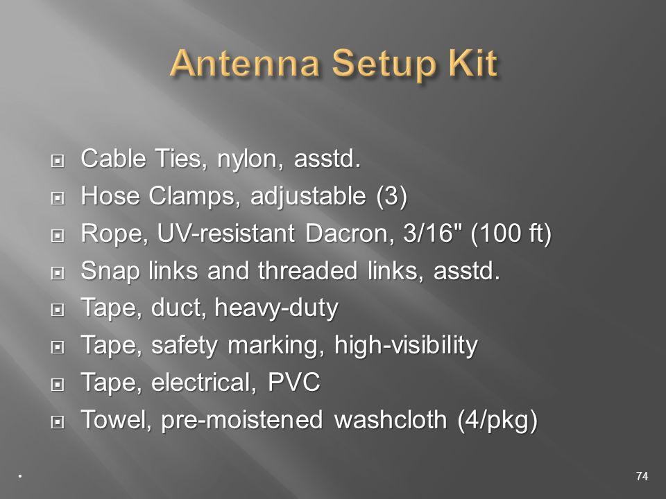 Cable Ties, nylon, asstd. Cable Ties, nylon, asstd.