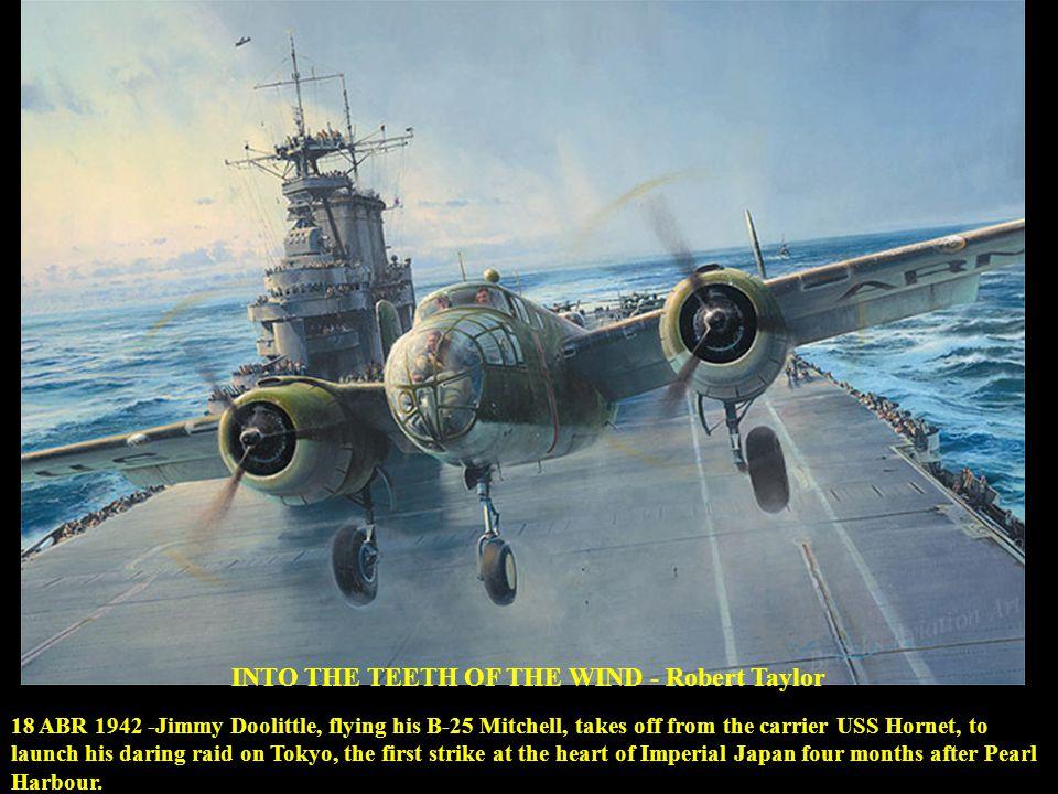 CAN T TALK NOW….GOTTA SHOOT - Dan Zoernig 7 JUL 1944 - Cap.