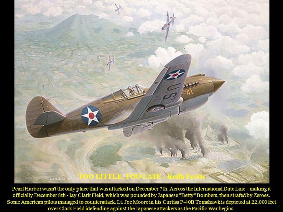 JUNKERS Ju88 – Shigeo Koike 1941 - A Ju88 A-4 bomber of III Gruppe / Lehrgeschwader 1 flies over the Tunisian desert.