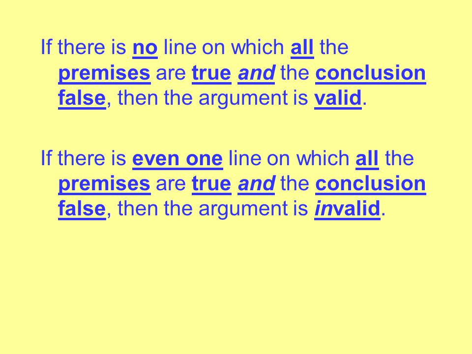 Consistent Statements: 1)The statements are neither equivalent nor contradictory. 2)There is at least one line on which both statements are true. Inco