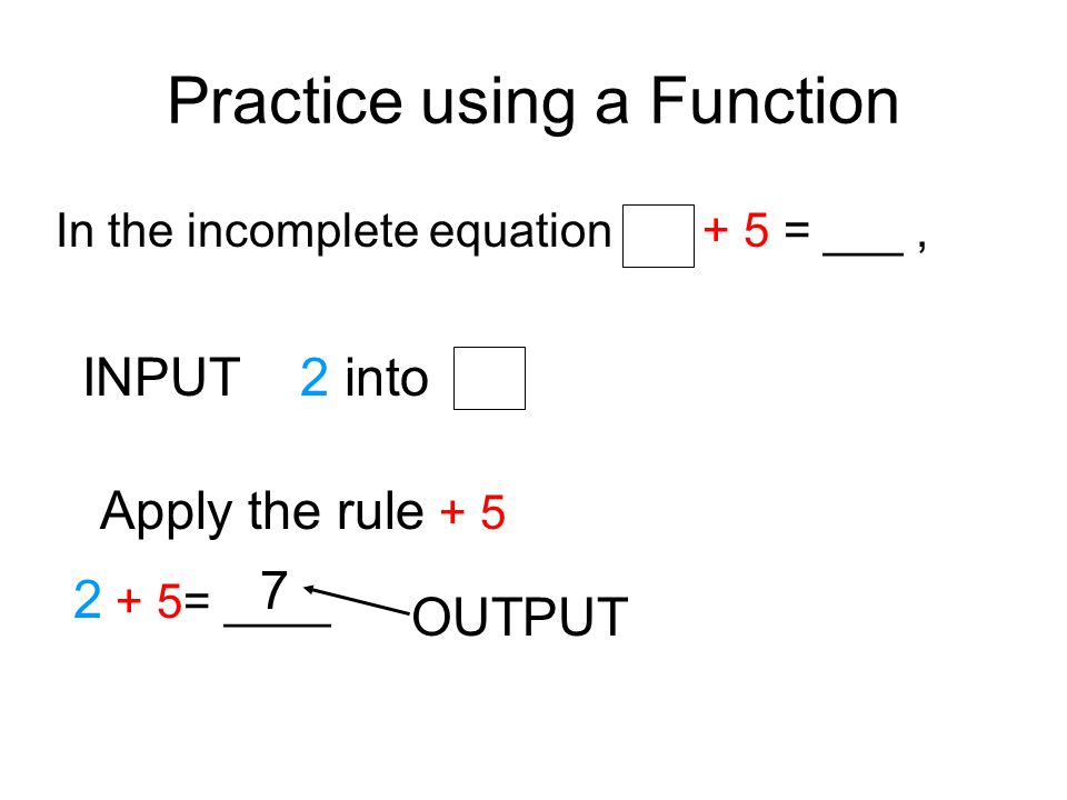 Function Tables InOut 205 82 4 24 3 7 1 6 12 28 The rule is ÷4