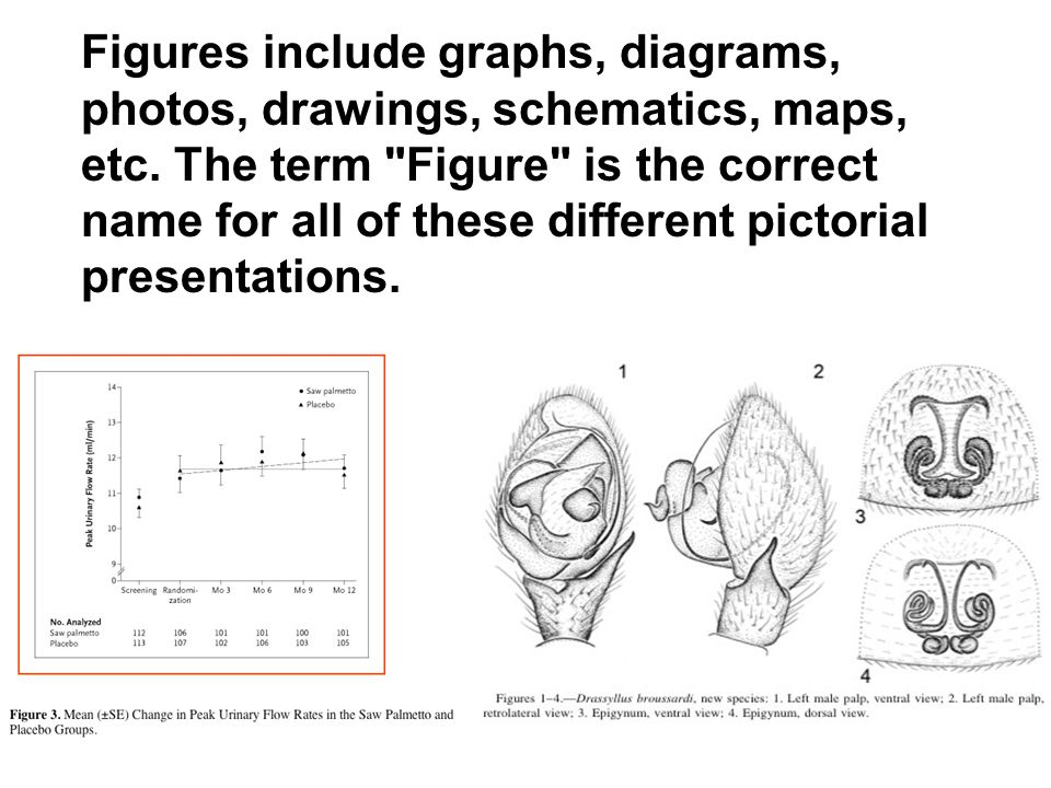 Figures include graphs, diagrams, photos, drawings, schematics, maps, etc. The term