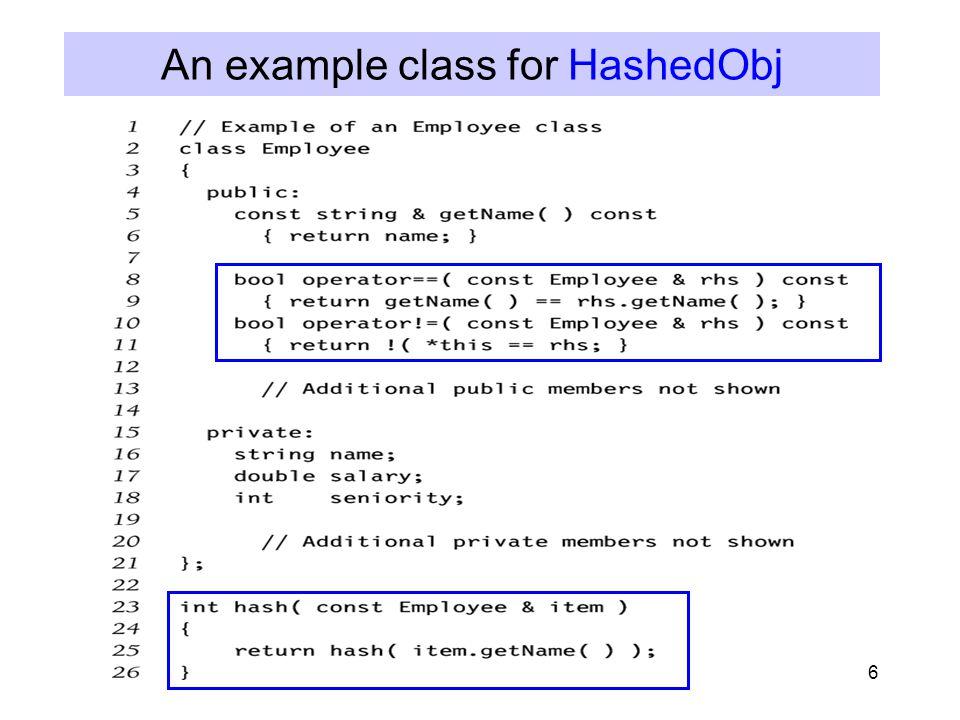 17 Double Hashing f(i) = i*hash 2 (x) E.g.