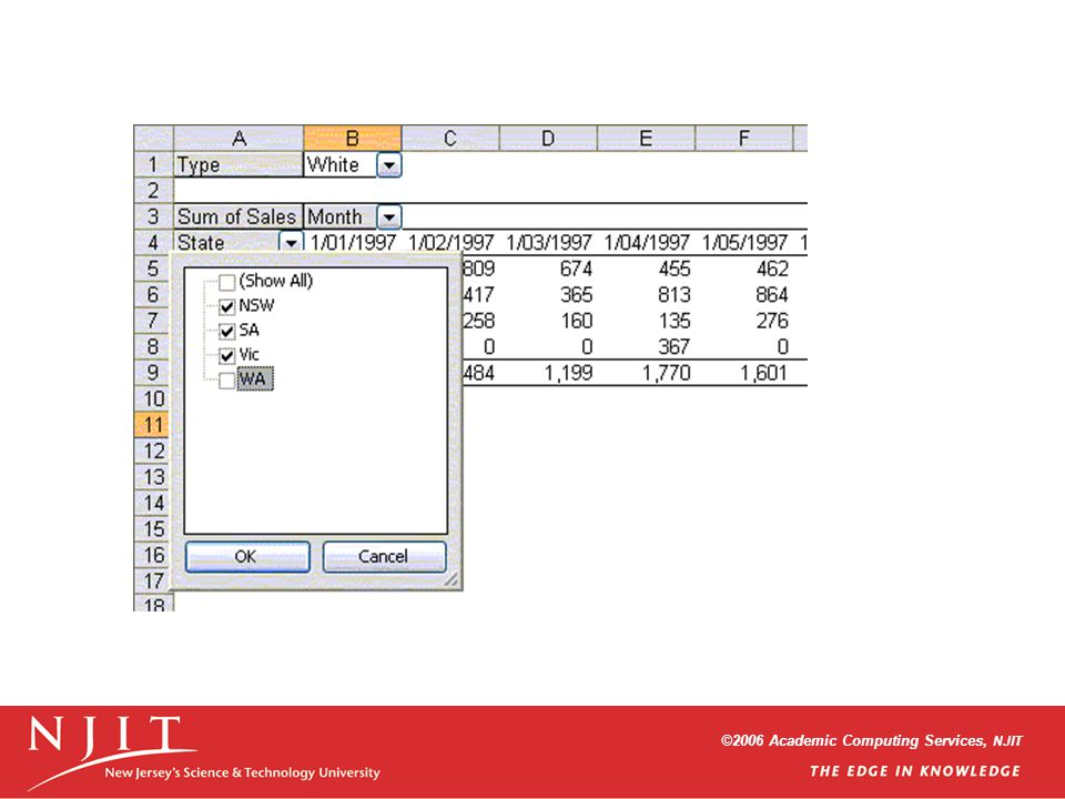 ©2006 Academic Computing Services, NJIT