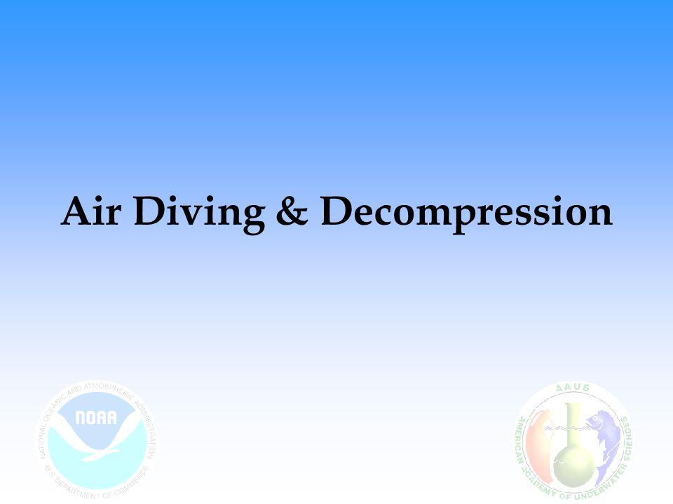 Air Diving & Decompression