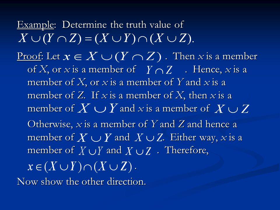 Venn Diagram Verification X Z Y