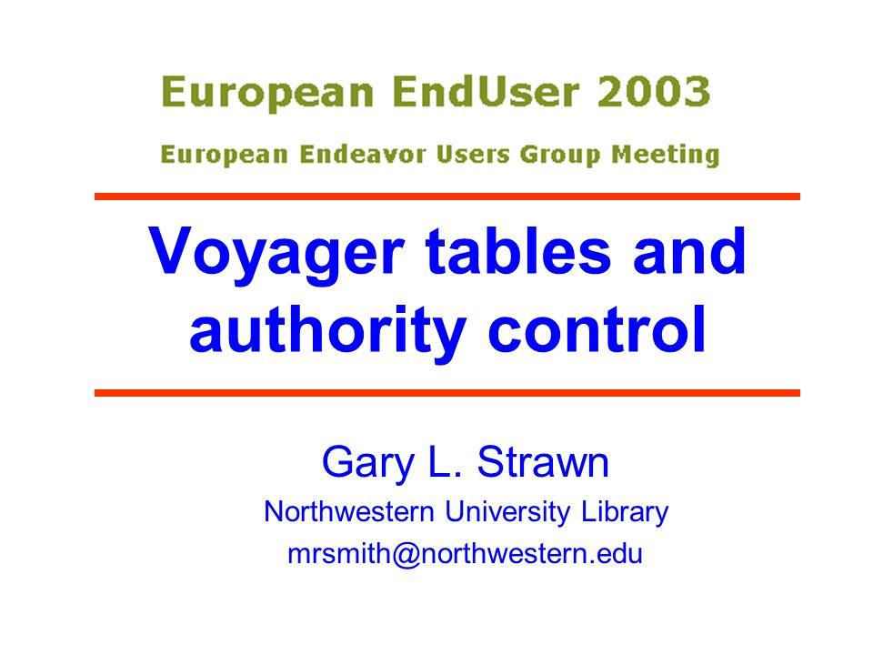 Zip file lhttp://www.library.northwestern.edu public/Files/Helsinki2.ZIP lTodays PowerPoint lWritten-out version of talk lDetailed description of table structure