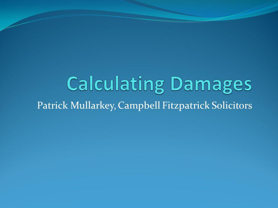 Patrick Mullarkey, Campbell Fitzpatrick Solicitors