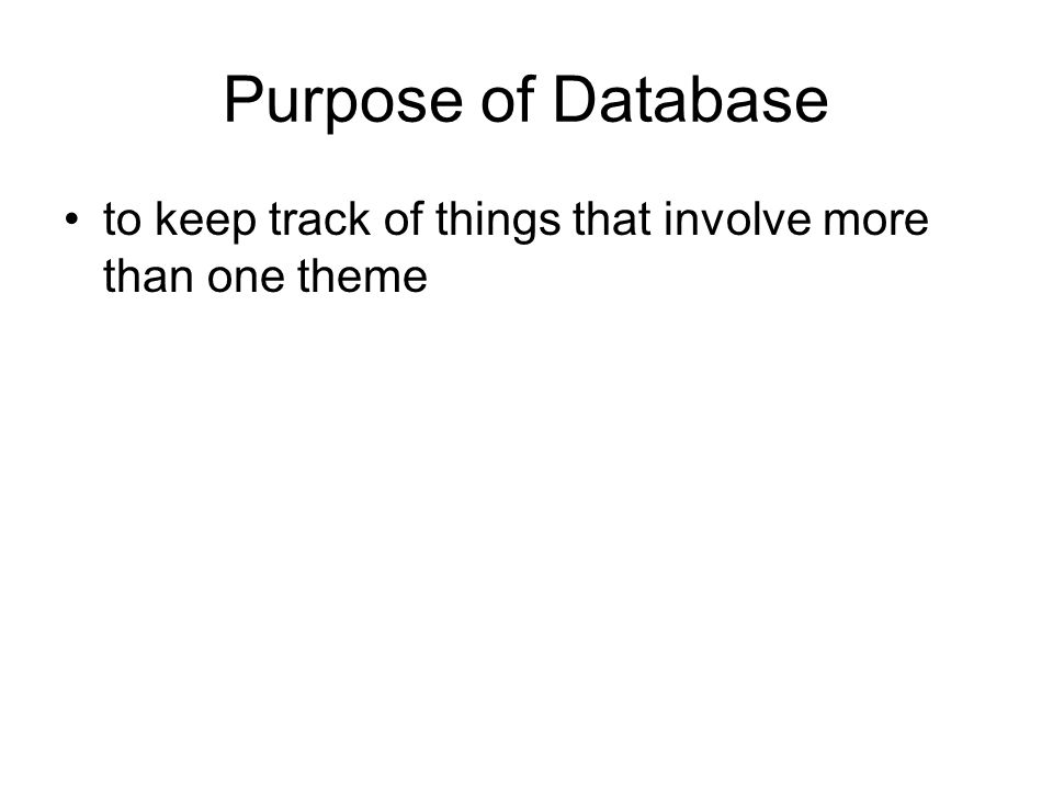 Database Administration - I Functions –Manage the development, operation, and maintenance of a database to achieve the organizations objectives –Balance conflicting goals to protect the database and maximize its availability for authorized use DBA –Database administrator or office of database administration –an auditor, a consultant, sometimes a policeman, and a diplomat working as a liaison between the users and professional developers