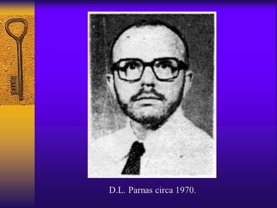 D.L. Parnas circa 1970.