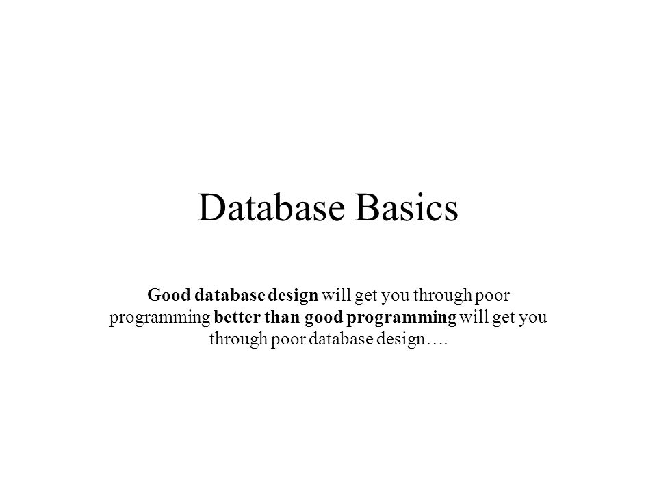 Relational Database Definition: –Data stored in tables that are associated by shared attributes (keys).