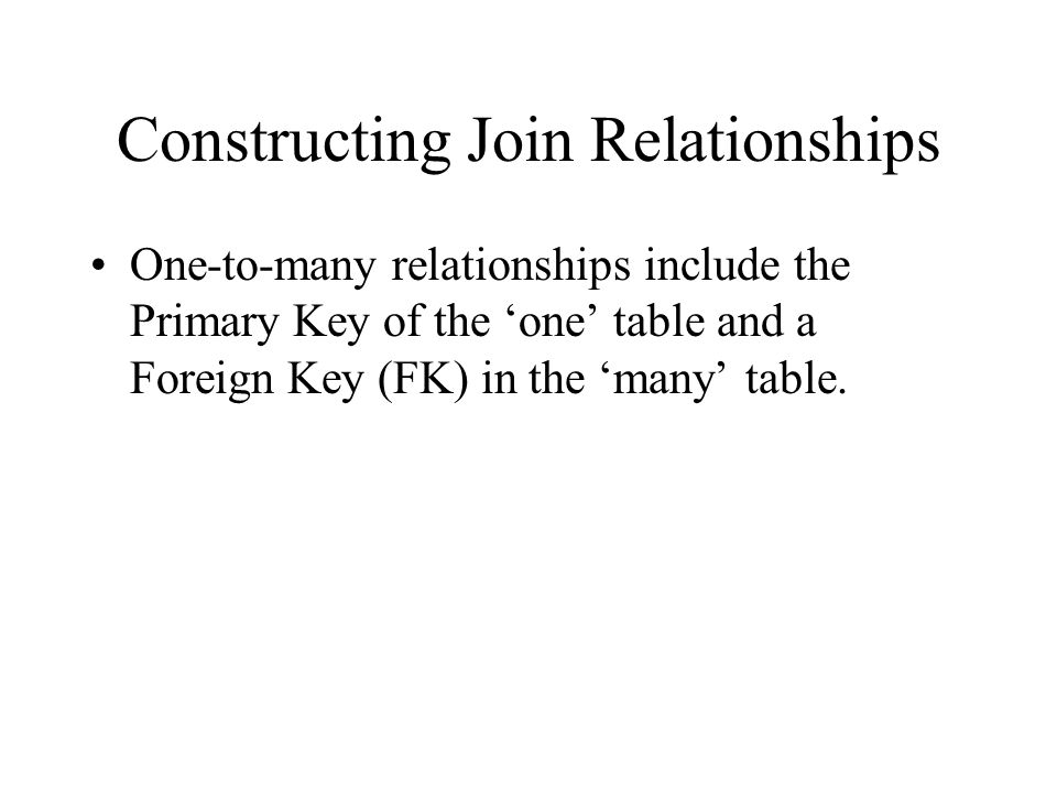Other common terms Cardinality: one-to-one, one-to-many, many-to-many relationships Optionality: the relationship is either mandatory or optional.
