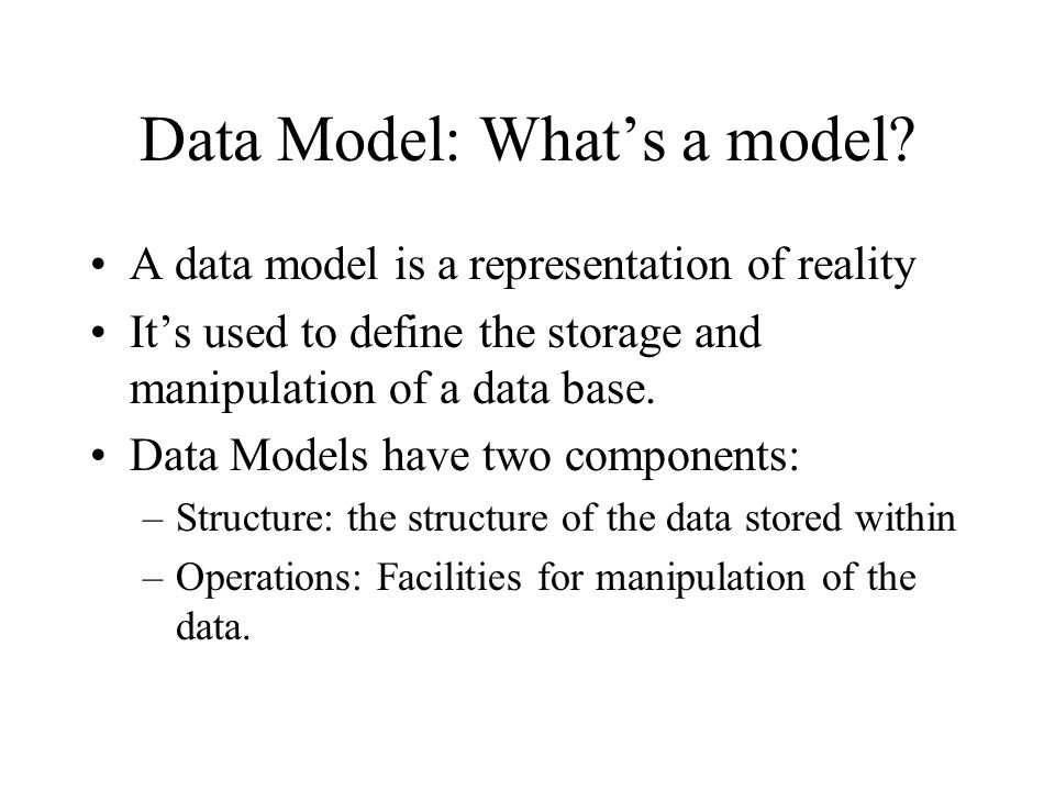 Relational Database Systems Most popular DBMS model for GIS Flexible approach to linkages between records comes the closest to modeling the complexity of spatial relationships between objects.
