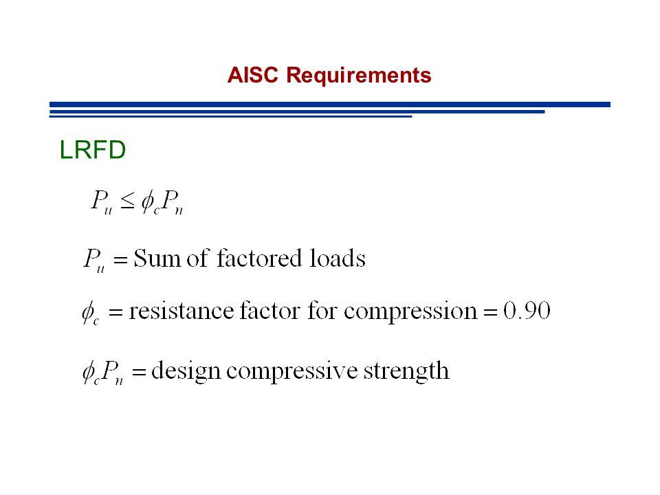 Example AISC Commentary Figure C-C2.3 nad C-C2.4 p 16-.1-241 COLUMN ABCOLUMN BC