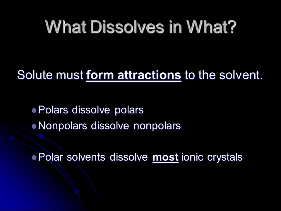 Supersaturated solutions are unstable.