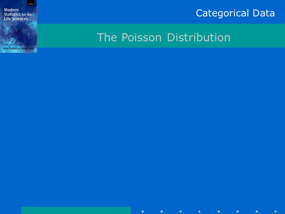 Categorical Data The Poisson Distribution