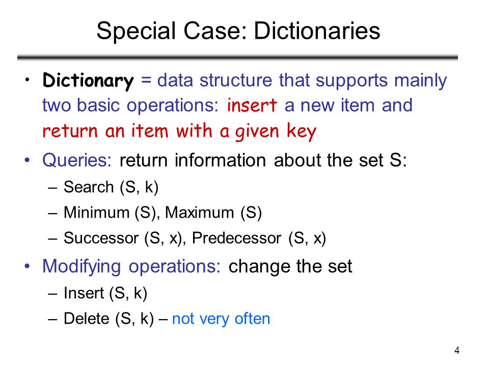 25 Case 1: Unsuccessful Search (i.e., item not stored in the table) Theorem An unsuccessful search in a hash table takes expected time under the assumption of simple uniform hashing (i.e., probability of collision Pr(h(x)=h(y)), is 1/m) Proof Searching unsuccessfully for any key k –need to search to the end of the list T[h(k)] Expected length of the list: –E[n h(k) ] = α = n/m Expected number of elements examined in an unsuccessful search is α Total time required is: –O(1) (for computing the hash function) + α