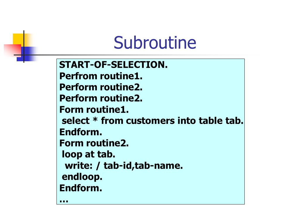 Modularization Avoid redundancy Make your program easy to read & improve their structure Re-use Program components