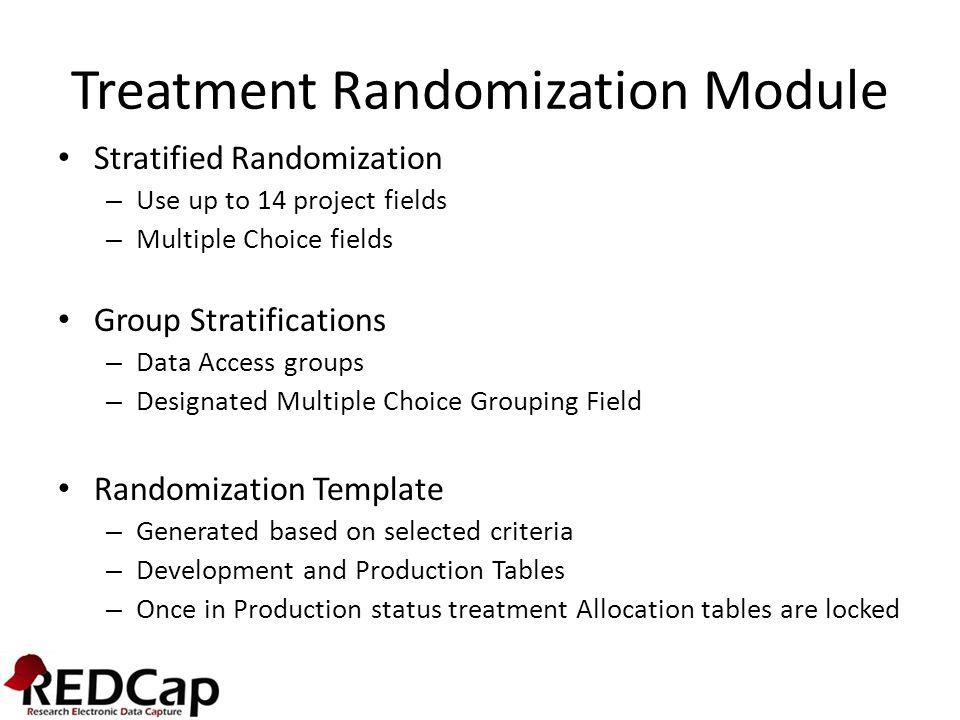 Enable Randomization Feature in Project Settings