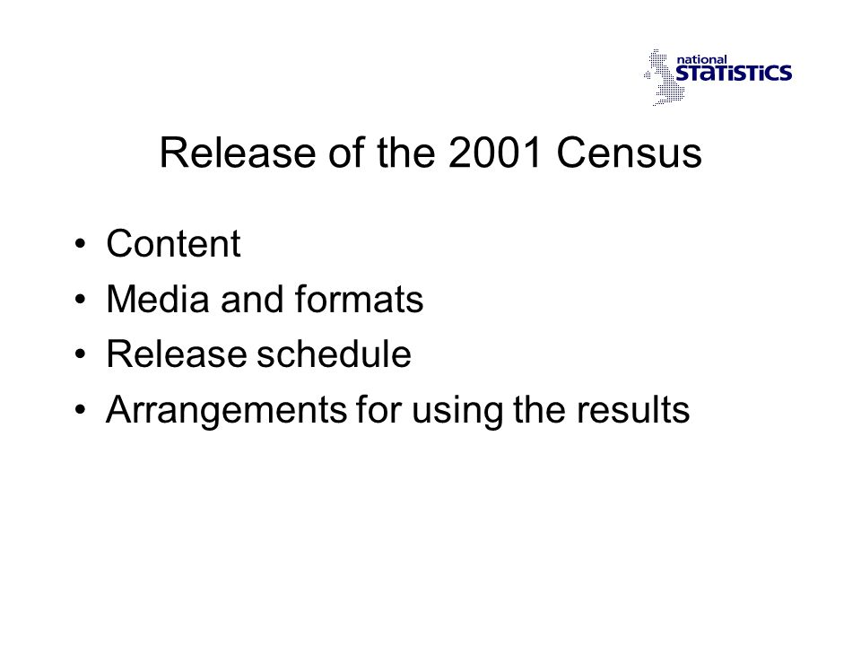 Standard Tables Detailed cross-tabulation of Census topics 135 tables, c.500 cells each including 17 Theme Tables Available for Ward-based geographies