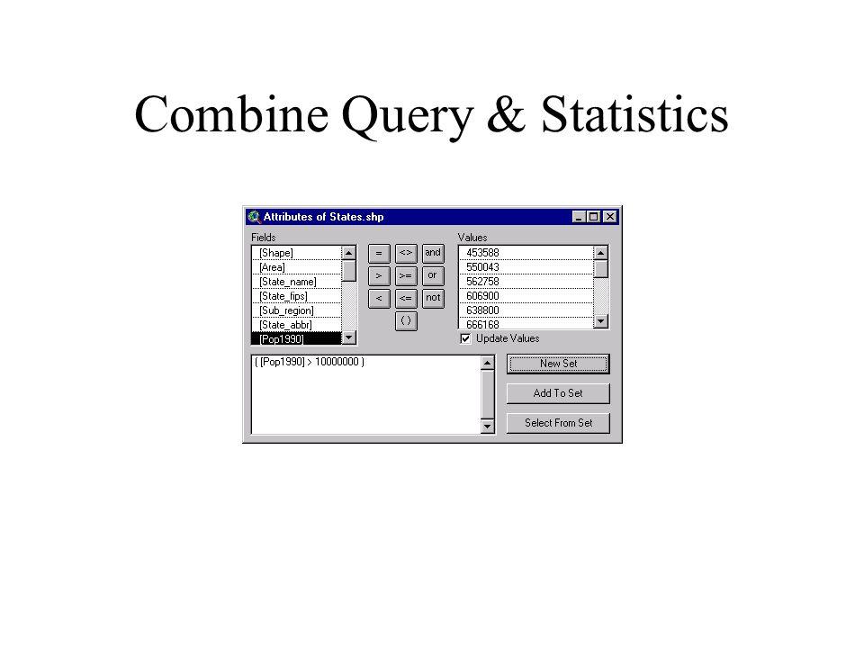 Combine Query & Statistics