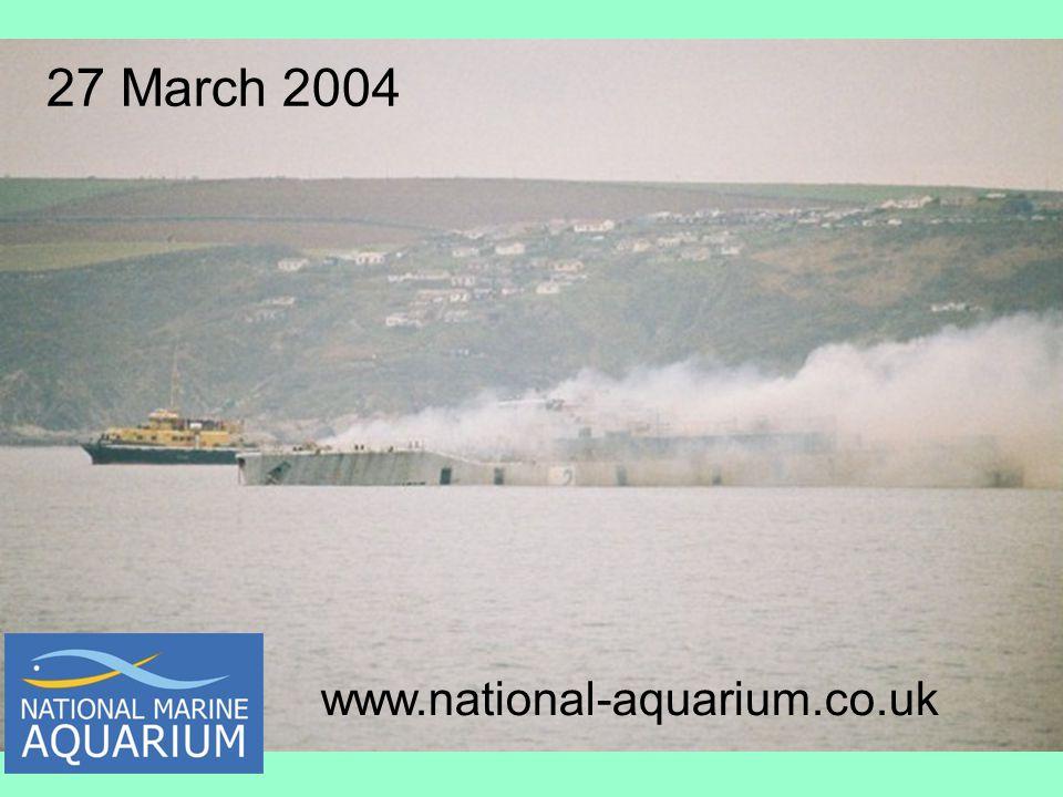 27 March 2004 www.national-aquarium.co.uk